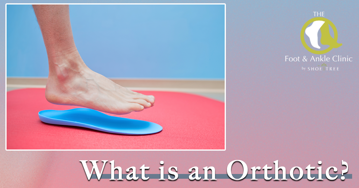 What is an orthotic share image - foot & ankle clinic by shoe tree
